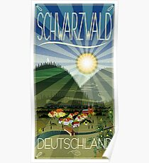 Schwarzwald Deutschland..Black Forest Poster