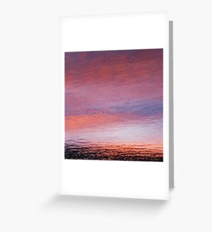 mellow dusk Greeting Card
