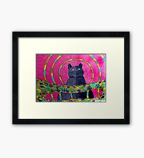 418 - QUEEN SUZIE - DAVE EDWARDS - COLOURED PENCILS 2015 Framed Print