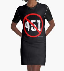 NO 451! Graphic T-Shirt Dress
