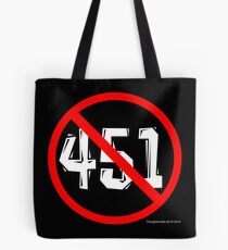 NO 451! Tote Bag