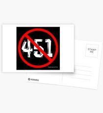 NO 451! Postcards