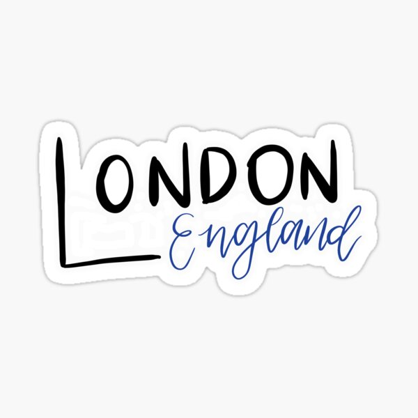 Londres, Angleterre Sticker