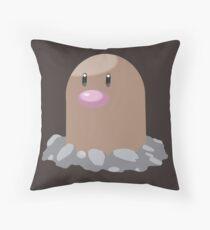Digett Pokemon Simple No Borders Throw Pillow