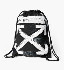 OFF WHITE Galaxy Brushed Drawstring Bag