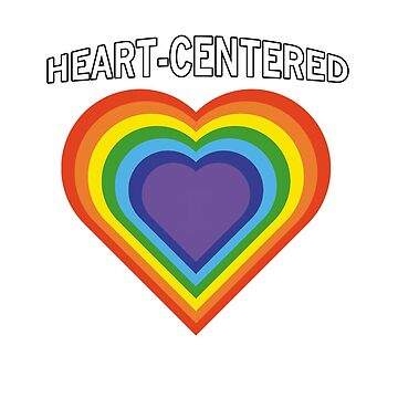 Heart-Centered Rainbow Hearts 05 by GoddessChrissy