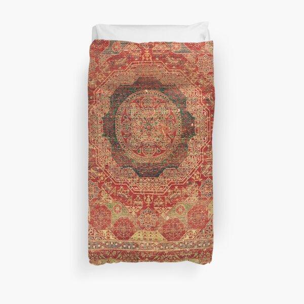 Mamluk Egyptian Carpet Print Duvet Cover