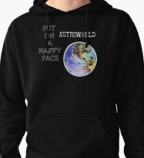 Astroworld Put On A Happy Face logo Pullover Hoodie