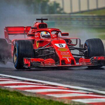 Sebastian Vettel  by Srdjanfox