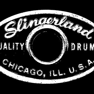 Slingerland Drums,Drum Badge-Jazz-Music-1956-1959 by carlosafmarques