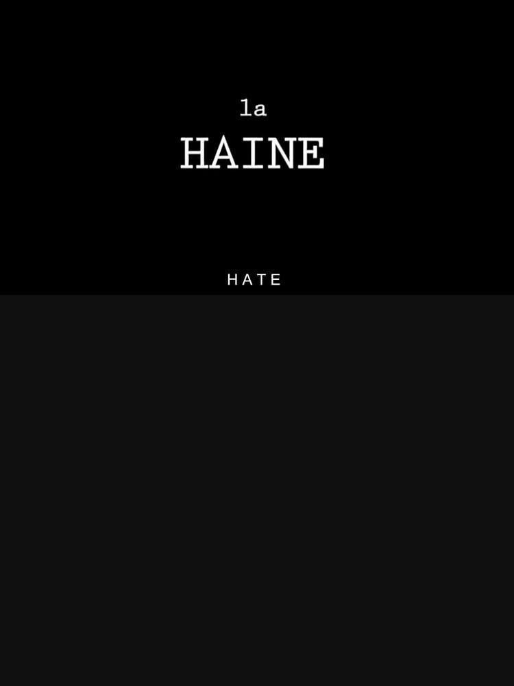 La Haine  by anabushi