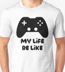Camiseta unisex El juego es vida