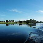 Yellow River Kakadu on a still blue morning by myraj