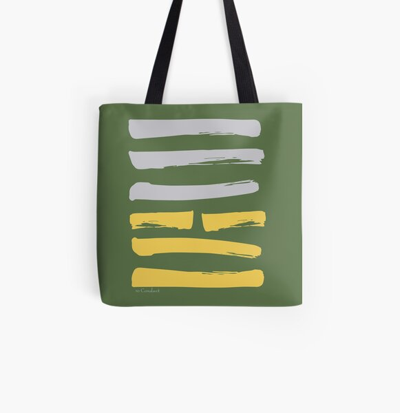10 Conduct I Ching Hexagram All Over Print Tote Bag
