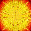 Solar Storm Mandala by WayneYoungArts