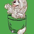 Pocket Cute Komondor Dog by TechraNova