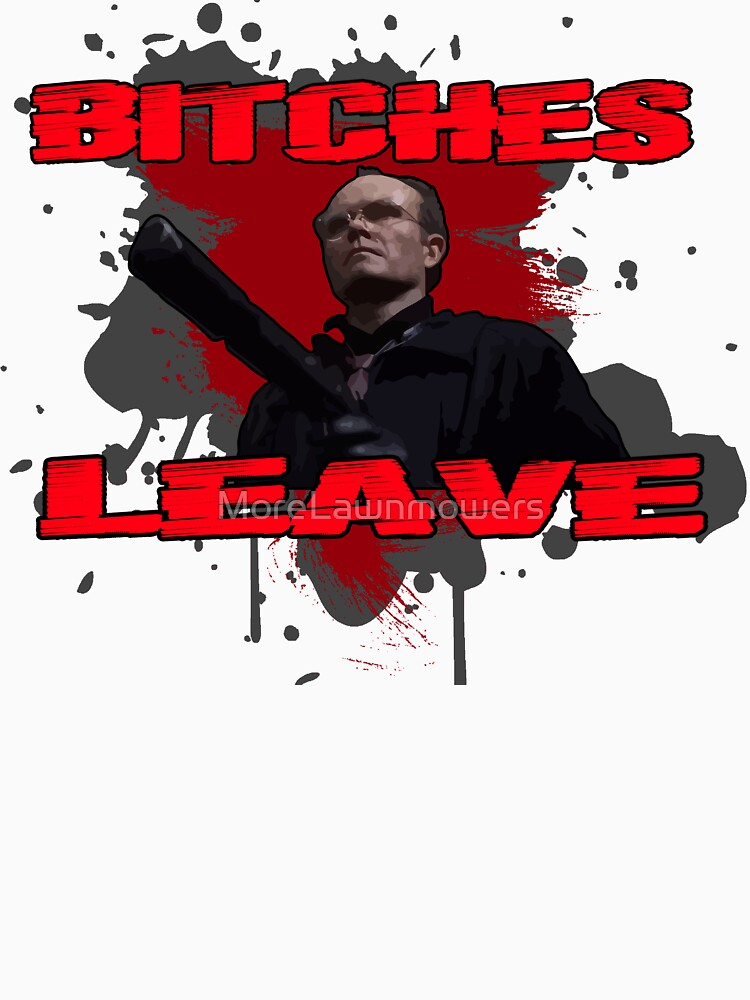 Clarence Boddicker Bitches Leave by MoreLawnmowers