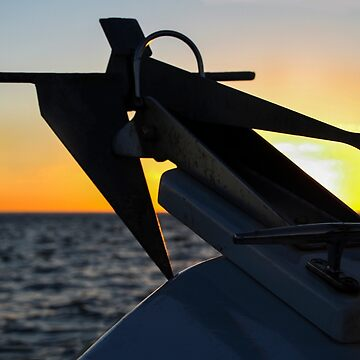 Anchor at Sunset, San Diego by heatherfriedman