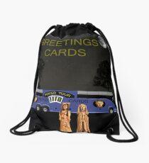 New York Fashion Drawstring Bag