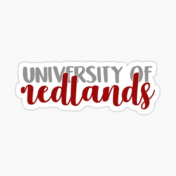 University of Redlands Sticker