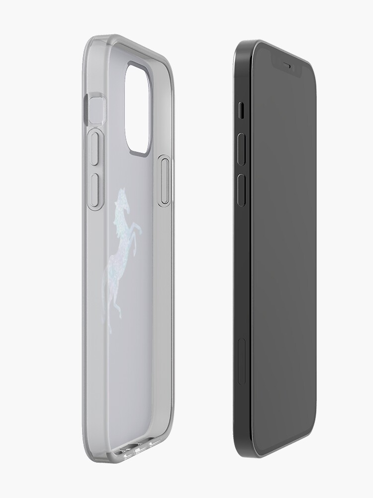 Alternate view of Rearing horse  iPhone Case & Cover