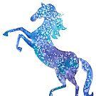 Rearing horse  by Andreea Dumez