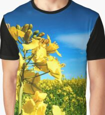 Oilseed Flowers Graphic T-Shirt