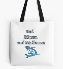 Shark alarm in Mallorca Tote Bag