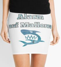 Shark alarm in Mallorca Mini Skirt
