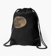 I see the moon Drawstring Bag