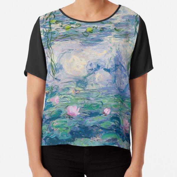 Nenúfares Claude Monet Fine Art Blusa