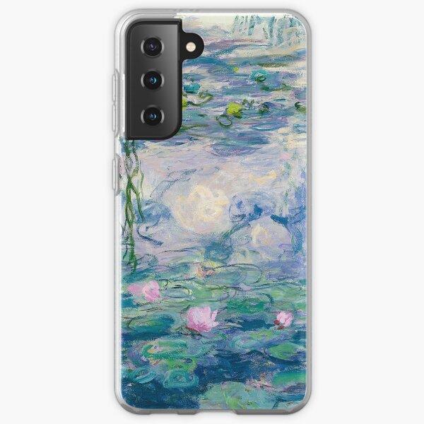 Water Lilies Claude Monet Fine Art Samsung Galaxy Soft Case