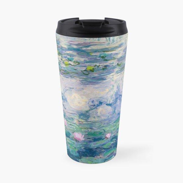 Water Lilies Claude Monet Fine Art Travel Mug