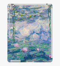 Water Lilies Claude Monet Fine Art iPad Case/Skin