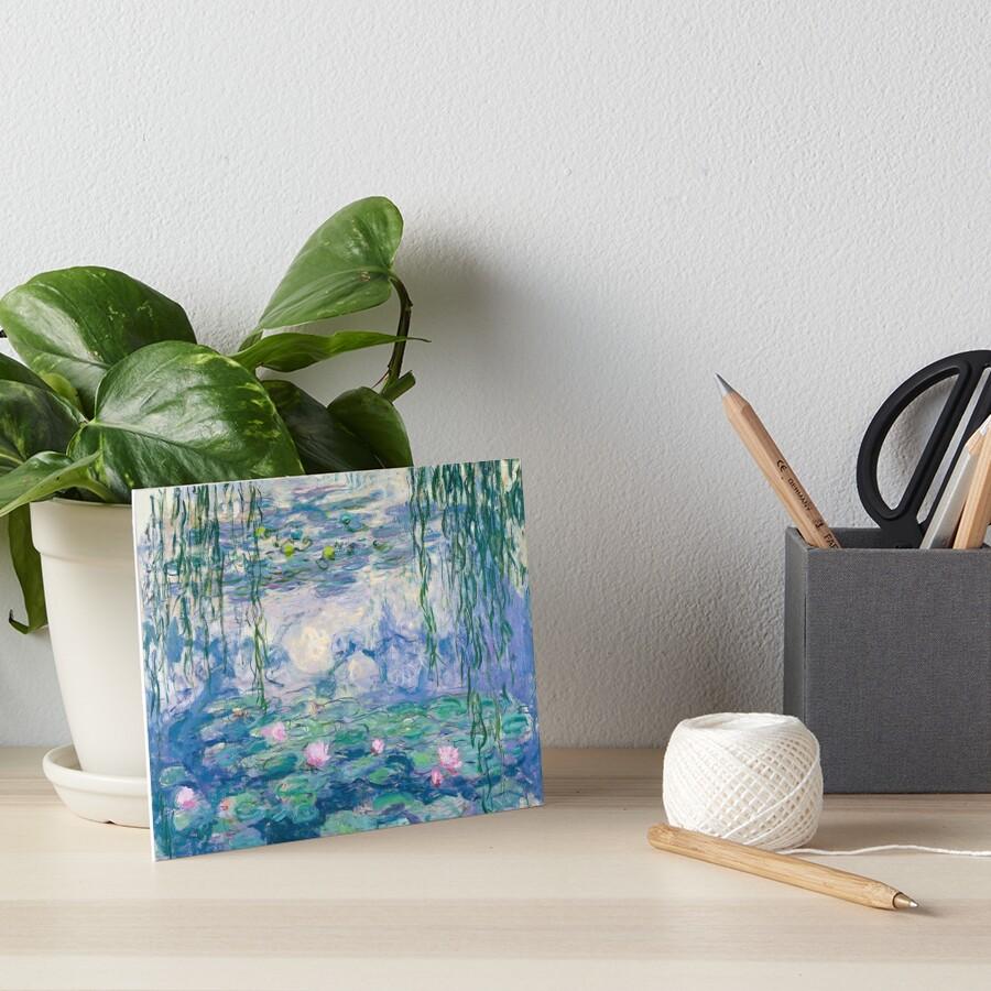 Water Lilies Claude Monet Fine Art Art Board Print