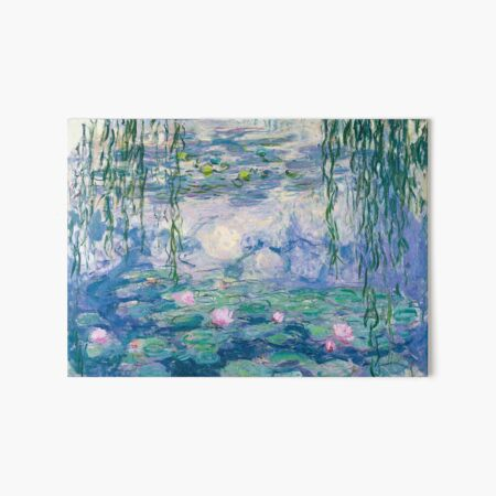 Water Lilies Claude Monet Fine Art Art Board Print