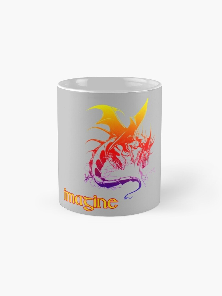 Alternate view of imagine dragons Mug