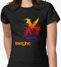 imagine dragons Women's Fitted T-Shirt
