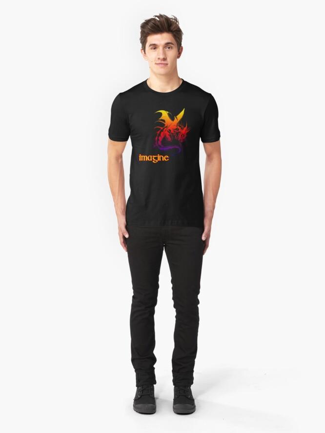 Alternate view of imagine dragons Slim Fit T-Shirt