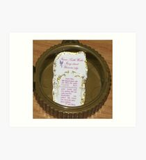Tooth Fairy Letter Art Print