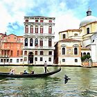 Canal Grande, Venice, Italy by heidiannemorris