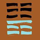 15 Moderation I Ching Hexagram by SpiritStudio