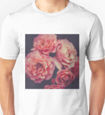 Roses in the night garden  Unisex T-Shirt