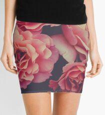 Roses in the night garden  Mini Skirt