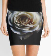 Classic white rose Mini Skirt
