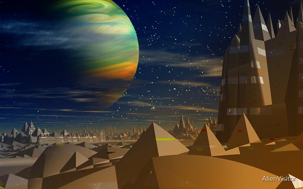 Pyramidia. by AlienVisitor