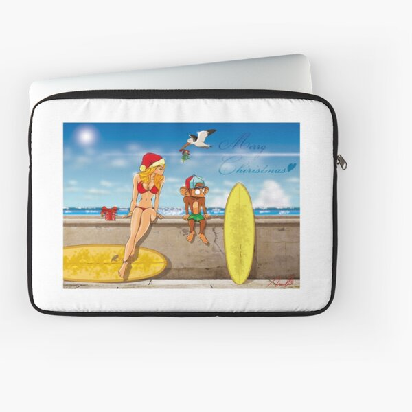 Summer Christmas Laptop Sleeve