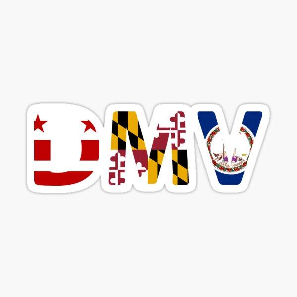 DMV Sticker