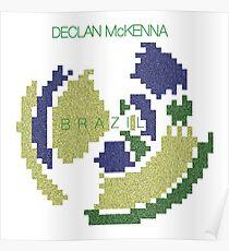 Declan McKenna Brazil Artwork Poster
