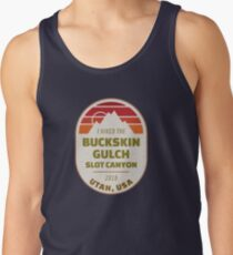 Buckskin Gulch Hiking Backpacking Souvenirs Tank Top
